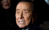 Former Italian Prime Minister and leader of the Forza Italia (Go Italy!) party Silvio Berlusconi attends a rally ahead of a regional election in Emilia-Romagna, in Ravenna, Italy, January 24, 2020.
